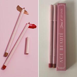 3/$15 Ace Beaute Draw It Lip Liner Duo